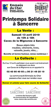 printemps solidaire 2019 flyer